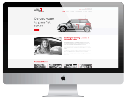 Affordable Business Website ASK Geeves